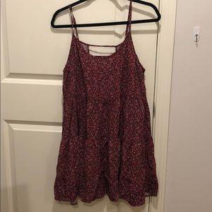 Xhilaration Dresses - Spaghetti strap floral dress